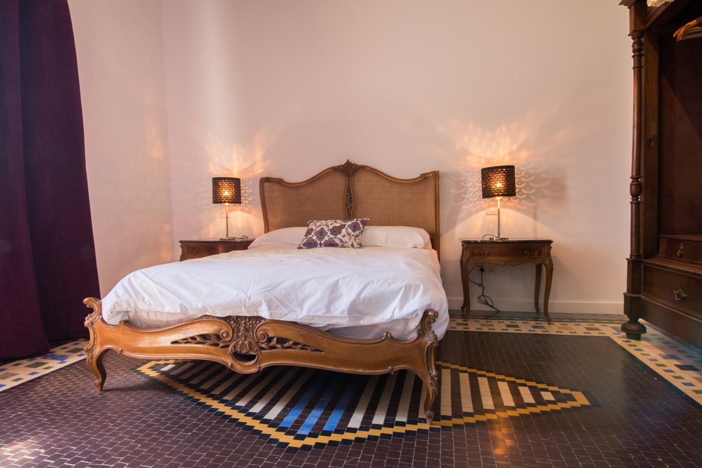Suite con terraza y jacuzzi